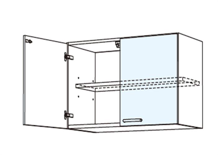 トールキャビネット 上置戸棚 JSI-60*★