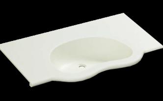 人工大理石洗面器一体カウンターBHS-103C-1_900