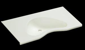 人工大理石洗面器一体カウンターBHS-104A-1EK