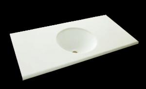 人工大理石洗面器一体カウンターBHS-300