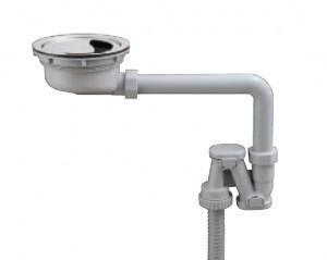 コーリアン900Jシンク薄型排水部品
