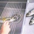 パレット魚のうろこ取り、開きに