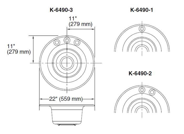 鋳物ホーローシンク Cordial コーディアル K-6490