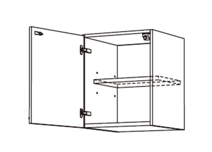 トールキャビネット 上置戸棚 JSI-45*★L/RT