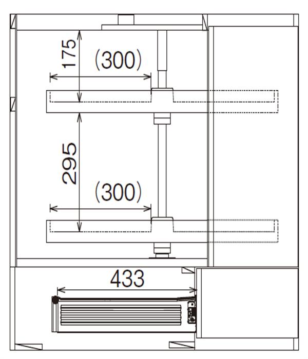 ベースキャビネット コーナーキャビネット JDA-CLF90*L/R