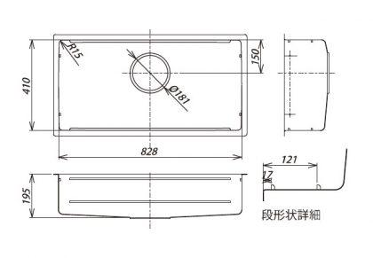 JSL-3F 寸法図