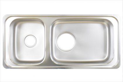 キッチンシンク 2槽ダブル