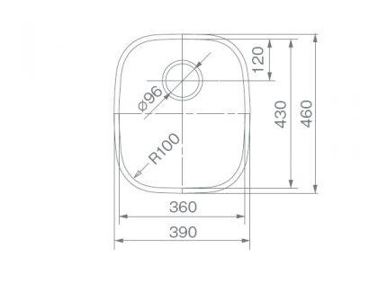COMO-36寸法図