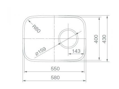 COMO-55寸法図