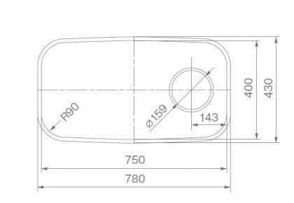 COMO-75寸法図