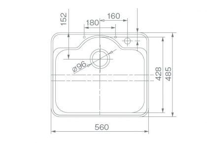 COMO-A5(O)寸法図