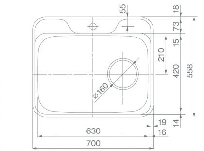 COMO-G6(R)寸法図