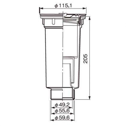 COMO-2MA寸法図