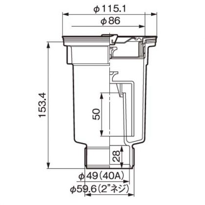 2MT-50A寸法図