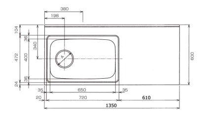 CKG-1350寸法図