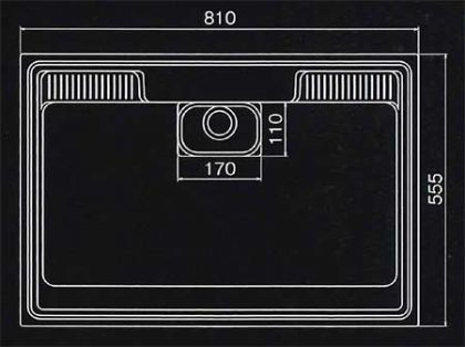 HS810寸法図