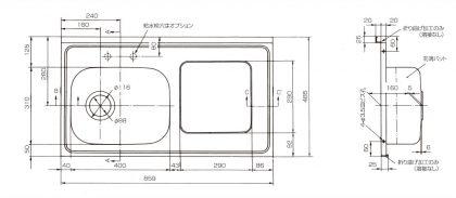 MSKB-860寸法図