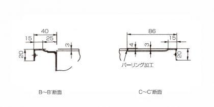 MSKB-B-B_C-C断面図