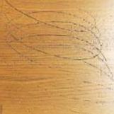 メラミンの特徴 タモ集成 鉛筆硬度試験
