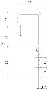 HK-72寸法図