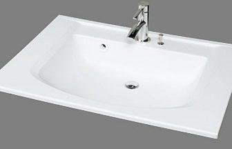 洗面器一体カウンターCT750