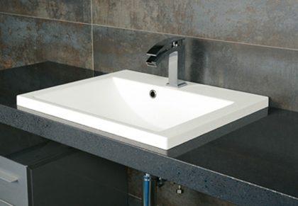 ベッセル型洗面器SQR600