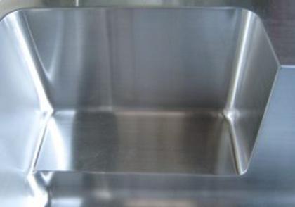 洗剤棚 手板金ステンレスシンク