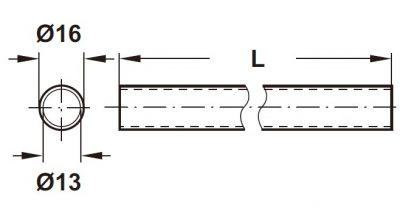 レーリングシステムLINERO レール寸法