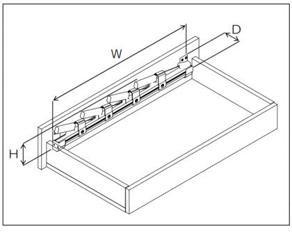 上部取付 横型 包丁差し チャイルドロック付 YH-BC900 OTS-YH-BC900-750 太田製作所