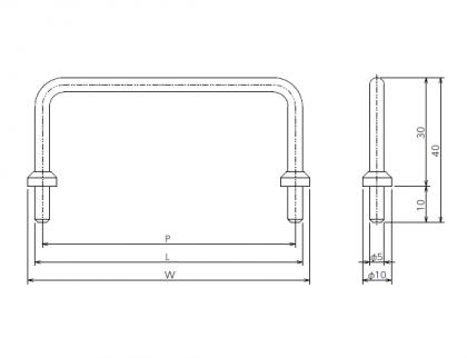 OTS-guardbar ガードバー 太田製作所 100×40 200×40 300×40 400×40 500×40