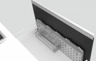 SPH900-750 太田製作所 システムパネル包丁差し