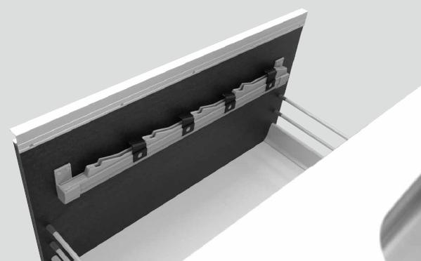 上部取付横型包丁差しチャイルドロック付 YH-BC900/750