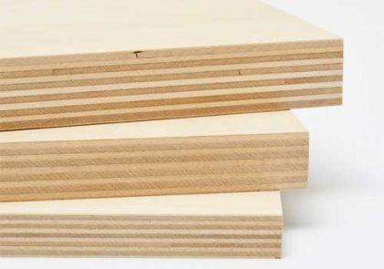 キャビネットの材質 合板
