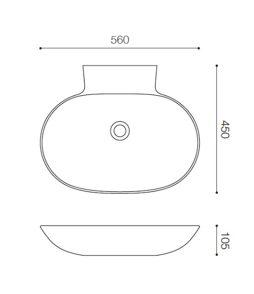 Fabbrica SH4556 ファッブリカヨシモト 洗面ボウル ホワイト 人工大理石 吉本産業