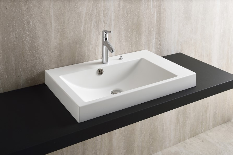 Fabbrica SR5075 ファッブリカヨシモト 洗面ボウル ホワイト 人工大理石 吉本産業