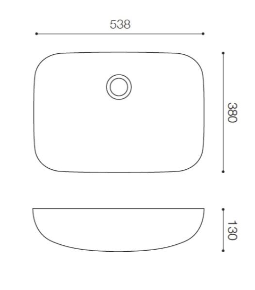 Fabbrica UR3854 ファッブリカヨシモト 洗面ボウル ホワイト 人工大理石 吉本産業