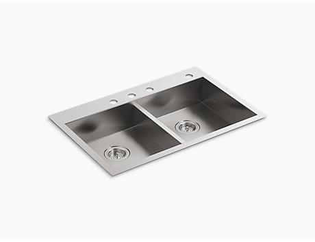 KOHLER stainless-steel ステンレスシンク