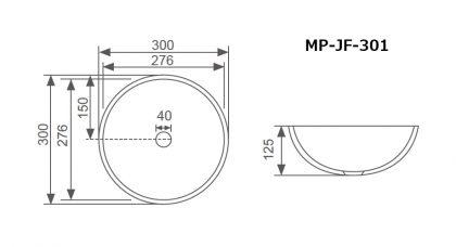 JF-301寸法図