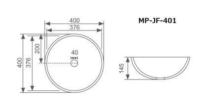JF-401寸法図