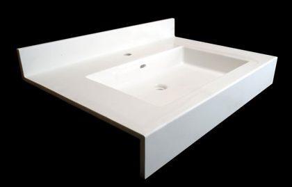 洗面器一体カウンターSQ-2D-600B