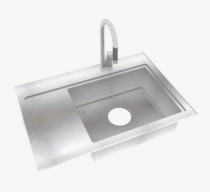 O-SG-DD-DAN デッキ付水栓デッキ段付き