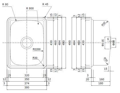 CS-43寸法図