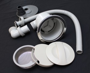 3Dシンク 排水部品