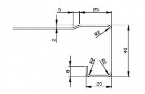 前垂れ寸法:角型(水返し有)