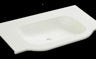 人工大理石洗面器一体カウンターBHS-101B-1EK