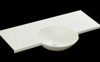 人工大理石洗面器一体カウンターBHS-106B_900