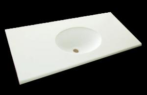 人工大理石洗面器一体カウンターBHS-210