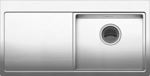 オーダーシンク:水切りデッキ付き段シンク